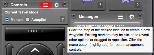 Arxterra Controls tooltip