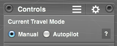 Travel Mode selector